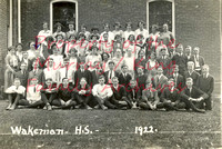 Wakeman Huron County Ohio Class of 1922 School Photograph