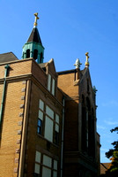 The school next door to St. John Cantius Church is likewise impressive.© Carolyn S. Murray 2006