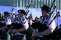 Bagpipers at the Cleveland Irish Festival circa 2007.  (July 20, 2007)© Carolyn S. Murray 2007