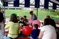 It was a nice day to spend at the Kiddie Park -- and a great place for a birthday party!  (September 27, 2008)© Carolyn S. Murray 2008