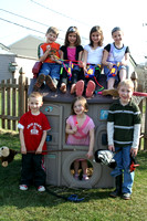 Here's a cute shot of all 7 of the kids who attended Liam's birthday party!  (March 25, 2007)
