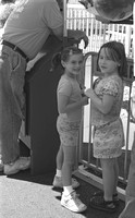And waiting patiently in line for the spaceships.  (July 2, 2007)© Carolyn S. Murray 2007