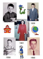 Here are various school pictures from over the years.