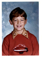 One of Kevin's school pictures.  Unfortunately, it's not marked .....  Mom .....  :-)
