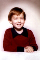 I think this was Kevin's kindergarten picture!