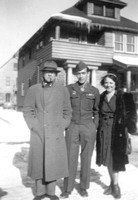 Don, with his grandfather Richard Louis Vourron and mother Blanche (Vourron) Esmond