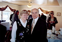 Janet and Don at his 80th birthday luncheon.  Happy Birthday Cousin Don!  (March 2004)