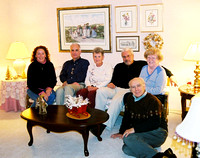 Cousin Diane came to visit from California, which gave Don a reason to get some of the cousins together.  Here's the group:  Carole Murray (married to Larry), Dennis Murray, Diane Davis, Larry Murray,