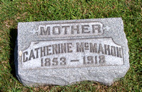 This is the grave of Catherine (McCARTNEY) McMAHON, wife of Patrick McMahon (December 22, 1851 [according to her death certificate] - August 25, 1918).  This grave can be found in the Immaculate Conce