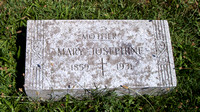 This is the grave of Mary Josephine, wife of John Paul RUFFING.  This grave can be found in the Immaculate Conception Catholic Cemetery in Lyme Township, Huron County, Ohio. (1859 - 1931).