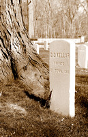 This is the grave of D. D. Kellar, a private in the 23rd Tennessee Cavalary.(April 22, 2007)© Carolyn S. Murray 2007