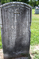 This is the grave of Patrick McCARTNEY (born abt. 1817 - June 6, 1869).  The inscription on his stone reads:  Patrick McCartney, a Native of Ireland, Parish of Lond., died 6 June 1869, aged 53 yrs., h