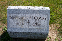 St. Mary's Cemetery Wakeman Huron County Ohio Photograph Photographs Graves Margaret Nohilly Conry Grave