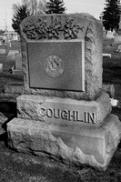 This is the COUGHLIN Monument in Immaculate Conception Catholic Cemetery, Lyme Township, Huron County, Ohio.