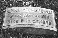 Selah Chamberlain Grave Lakeview Cemetery Cleveland Ohio 1812 1890