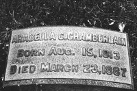 Arabella Chamberlain Lakeview Cemetery Cleveland Ohio 1813 1887