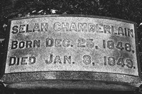 Selah Chamberlain Grave Lakeview Cemetery Cleveland Ohio 1848 1849
