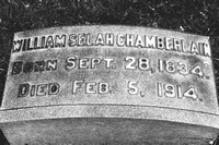 William Selah Chamberlain Lakeview Cemetery Cleveland Ohio Grave 1834 1914