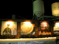 These are some of the photos used as labels on the various beer Great Lakes produces.  (February 2008)© Carolyn S. Murray 2008