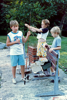 And not only was it nice to look at, the boys would fish in it too!  (June 1987)