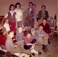 Christmas 1960 Maddron Family Sevier County Tennessee