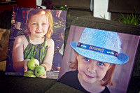 Canvas Prints Photographs Girl Granddaughter
