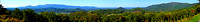 Great Smoky Mountains View Panoramic Photograph Print