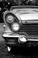 1960 Lincoln Front End Headlights For Sale Print Photograph Purchase Buy