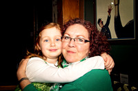 Grandmother Granddaughter Family St. Patrick's Day 2016