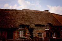 The thatched cottages of Adare, County Limerick, Ireland.