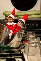 I'll apologize right now for all those who thought they wouldn't be seeing another Elf on a Shelf ...