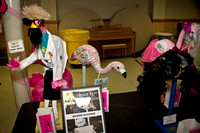 Flamingo Fever 2014 Banquet Auction Ball Parma Ohio Art Exhibit Display
