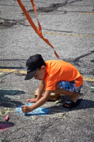 8th Annual Sidewalk Chalk Drawing, Parma, Ohio