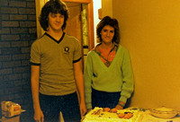 Kevin and Michele celebrating their birthdays!  (November 1985)
