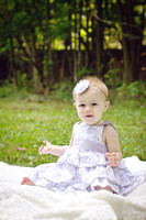 Faith's 9 Month Portraits (August 2014)