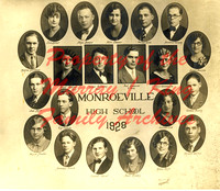 Monroeville (Huron County, Ohio) Class of 1928 Picture