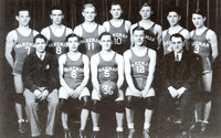 Al and Lou Murray, 1936 Wakeman High School Basketball Team