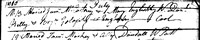 James McCartney, Mary Englishby, Marriage Record, Coole Ardee County Louth Ireland,