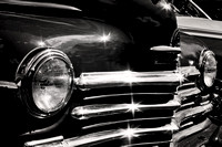 Plymouth Grill Chrome Photograph Print