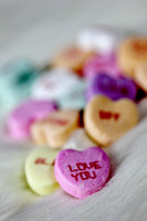 Valentine Candy Hearts Message Photograph Print For Sale Purchase Buy